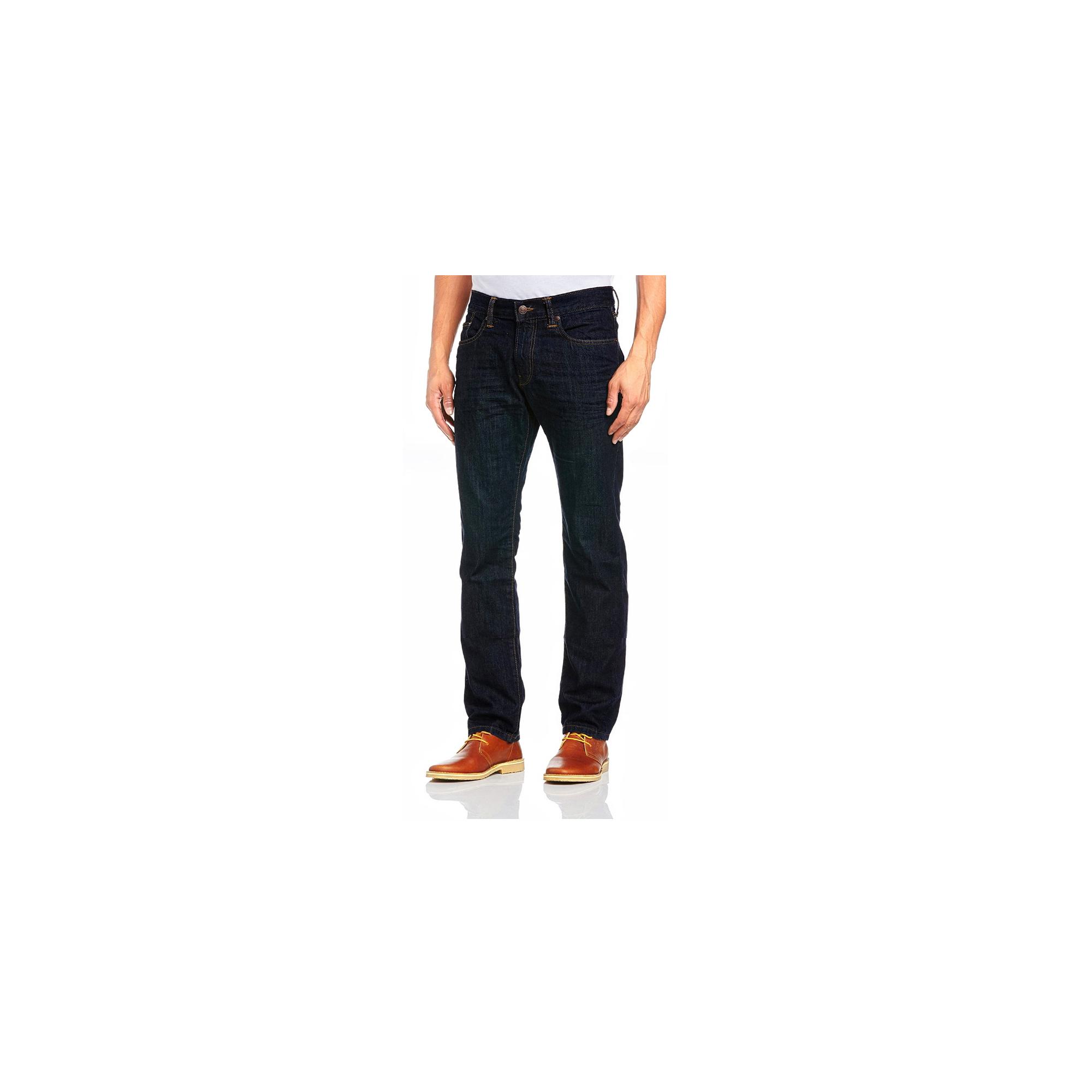 denim herren jeans hose straight leg regular fit stretch. Black Bedroom Furniture Sets. Home Design Ideas